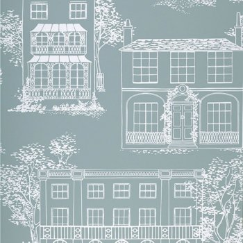Little Greene Hampstead - Penumbra Wallpaper