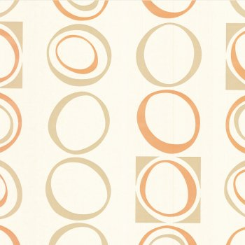 Little Greene Hepworth Tangerine Wallpaper