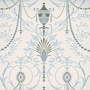 Little Greene Marlborough - Crystal Wallpaper