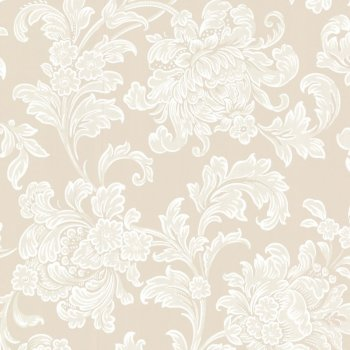 Little Greene North End Road - Cartouche Wallpaper