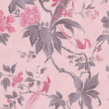 Little Greene Paradise Pink Wallpaper Wallpapers From