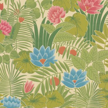 Little Greene Reverie Forest Wallpaper