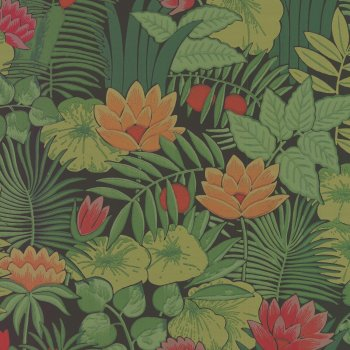Little Greene Reverie Jungle Wallpaper