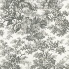 Stag Toile - Moss Wallpaper