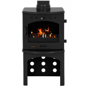 Log Store For 4.7KW Stove - Black Enamel