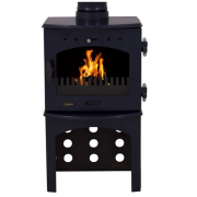 Log Store For 4.7KW Stove - Blue Enamel