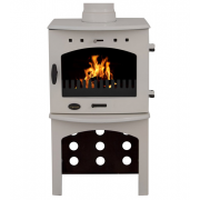 Log Store For 4.7KW Stove - Cream Enamel