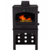 Carron Log Store For 4.7KW Stove - Matt Black