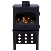 Log Store For 7.3KW Stove - Blue Enamel