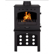 Log Store For 7.3KW Stove - Matt Black