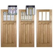 Adoorable Oak Tuscany 3 Light Double Glazed Exterior/External Door