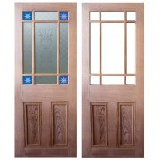 Nostalgia Victorian Style Downham Pitch Pine Interior/Internal Door