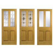 Nostalgia Victorian Style Four Panel Malton White Oak Interior/Internal Door