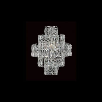 Impex Lighting New York 3LT Crystal Wall Light