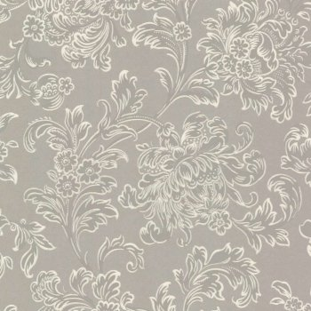 Little Greene North End Road - Warm Silver Wallpaper