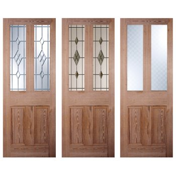 LPD Doors Nostalgia Victorian Style Four Panel Malton Pitch Pine Interior/Internal Door