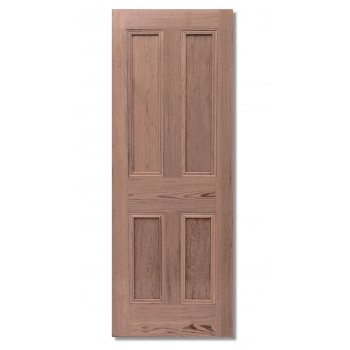 LPD Doors Nostalgia Victorian Style Four Panel Pitch Pine Interior/Internal Door