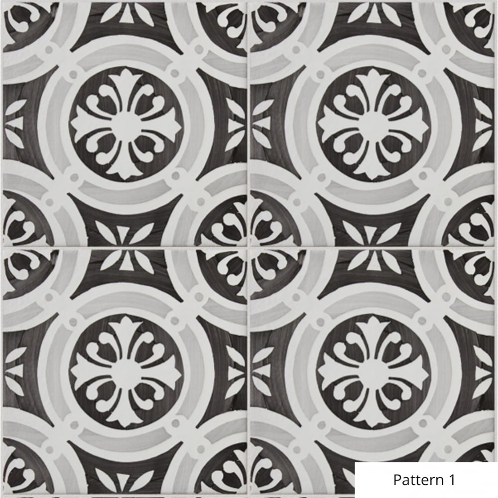 Ca\'Pietra Notre Dame Hand Painted Ceramic Tile - Flooring from ...