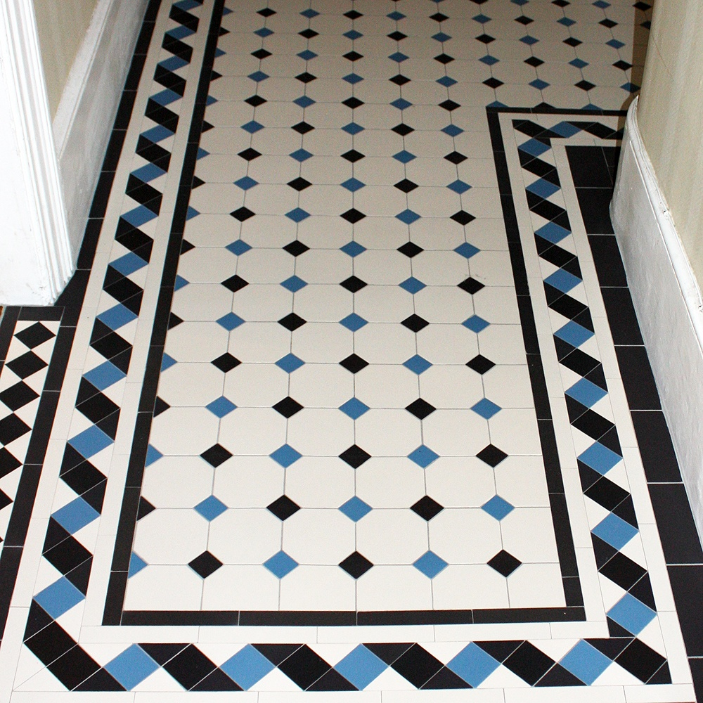 Olde english barton 150 geometric floor tiles flooring from olde english barton 150 geometric floor tiles flooring from period property store uk dailygadgetfo Images