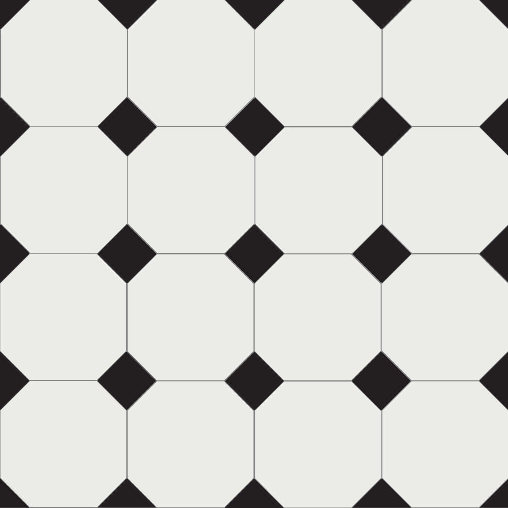 Olde English Barton 150 Geometric Floor Tiles Flooring