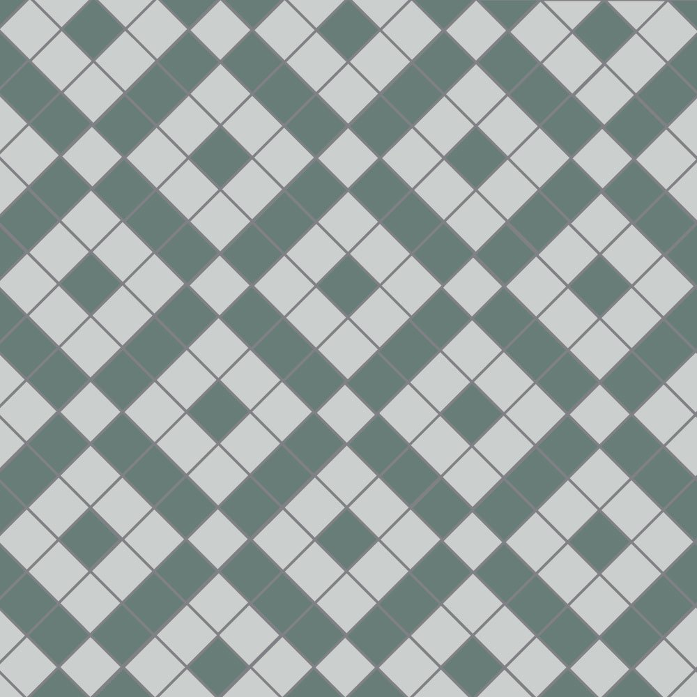 Colliford geometric floor tiles for Old english floor