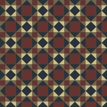 Olde English Dunvegan Geometric Floor Tiles