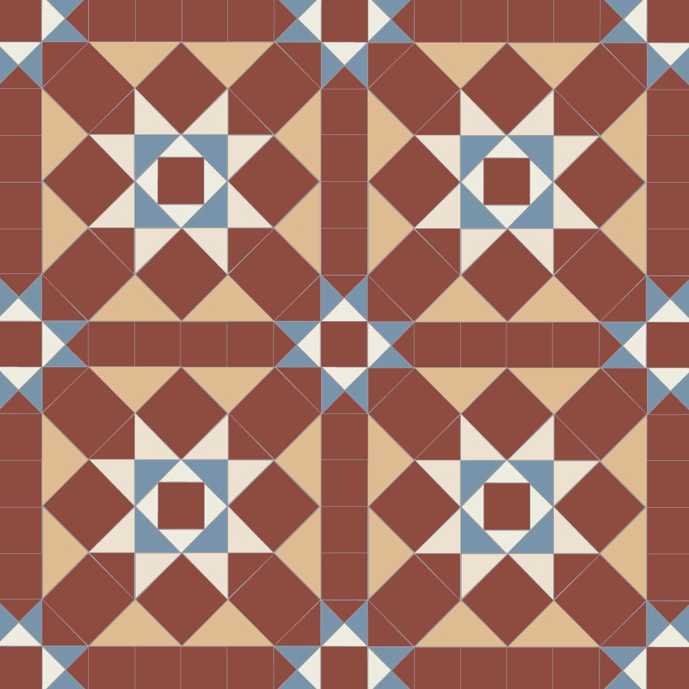 Grasmere Geometric Floor Tiles