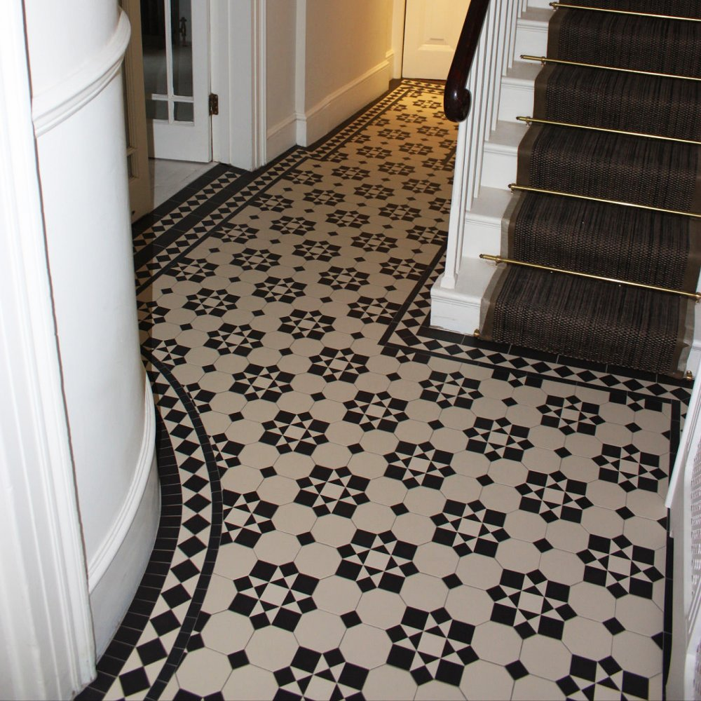 Olde English Katrine Geometric Floor Tiles Flooring From