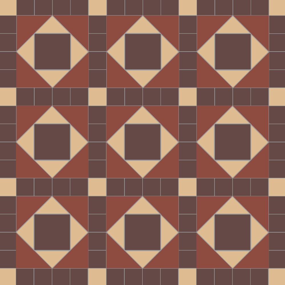 Lockwood Geometric Floor Tiles