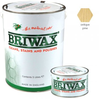 Briwax Original Antique Pine Wood Wax Polish/Restorer