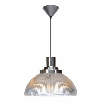 Original BTC Cosmo Prismatic Glass Pendant Light