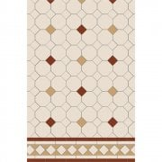 Ashbourne Design Pattern Victorian Floor Tiles