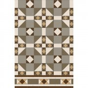 Colchester Pattern Victorian Floor Tiles