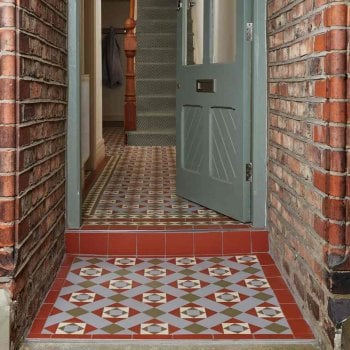 Original Style Conway Perfect Symmetry Design Victorian Floor Tiles