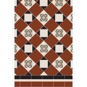 Fotheringhay Perfect Symmetry Design Victorian Floor Tiles