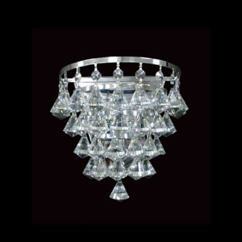 Impex Lighting Parma 1LT Crystal Wall Light G9