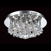 Parma Crystal Flush Ceiling Light