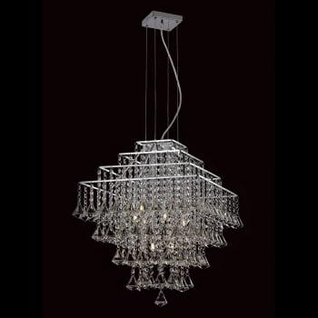 Impex Lighting Parma Crystal Hanging Pendant Ceiling Light