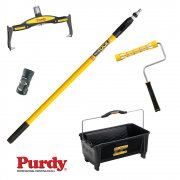 Adjustable & Cageless Rollers, Jiffyloc Adaptor, Extension Pole & Dual Roll Off Bucket