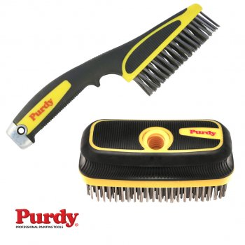 Purdy Stainless Steel Bristle Wire Brushes