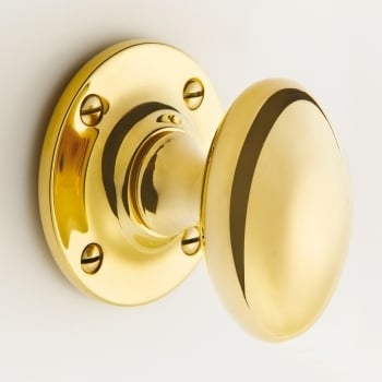 Quality Locks Oval Door Knob