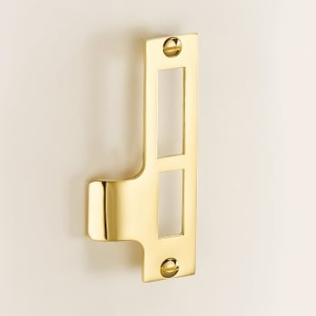 Quality Locks Pressed Strike Plate Small