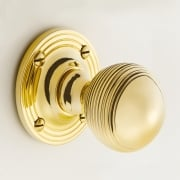 Reeded Door Ball Knob