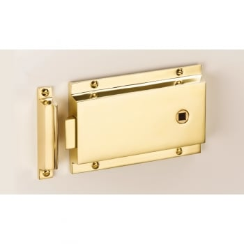 Quality Locks The Beckbury Flanged Rim Latch
