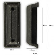 Replacement Cast Iron Door Keep DK011 - Cast Iron
