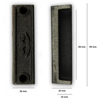 PPS Replacement Cast Iron Door Keep DK05 - Cast Iron