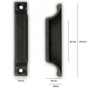 Replacement Cast Iron Door Keep DK06 - Cast Iron