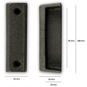Replacement Cast Iron Door Keep DK08 - Cast Iron