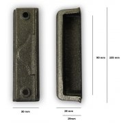 Replacement Cast Iron Door Keep DK11 - Cast Iron