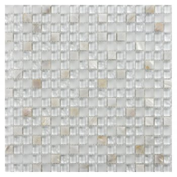 Marshalls Tile & Stone Sea Pearl Mosaic Tiles